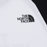 Мужская футболка The North Face SS Raglan Easy TNF White/TNF Black фото- 4