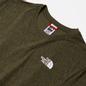 Мужская футболка The North Face SS Red Box Burnt Olive Green Rain Camo Print фото - 1