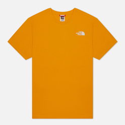 Мужская футболка The North Face SS Red Box Flame Orange