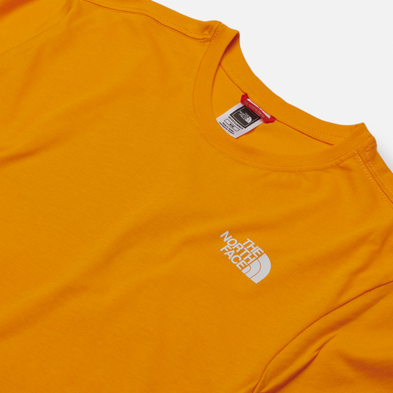 Мужская футболка The North Face SS Red Box Flame Orange