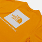 Мужская футболка The North Face SS Red Box Flame Orange фото - 2