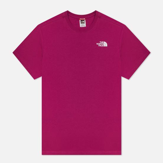 Мужская футболка The North Face SS Red Box Wild Aster Purple