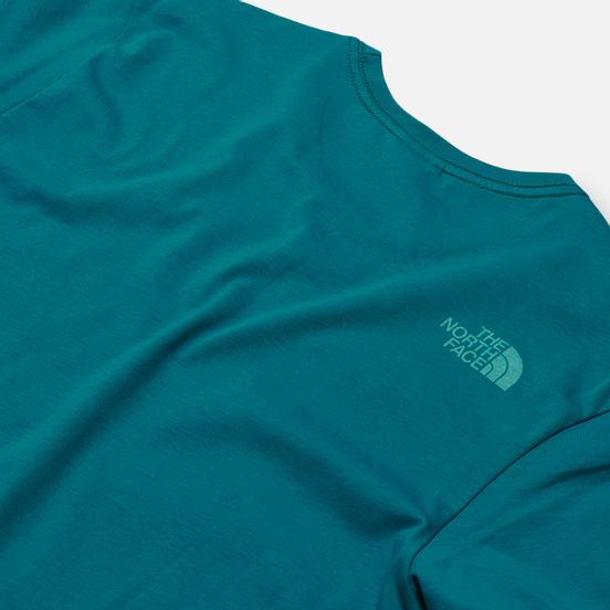 Мужская футболка The North Face SS Rust Fanfare Green