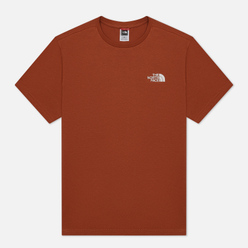 Мужская футболка The North Face SS Simple Dome Caramel Cafe