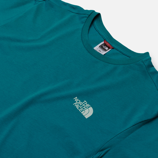 Мужская футболка The North Face SS Simple Dome Fanfare Green