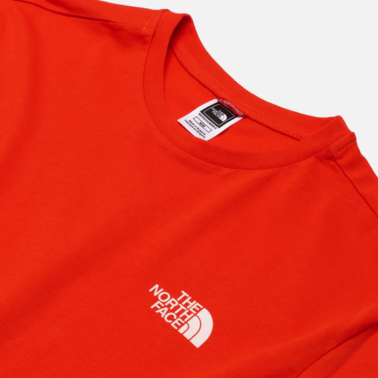 Мужская футболка The North Face SS Simple Dome Fiery Red