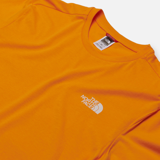 Мужская футболка The North Face SS Simple Dome Flame Orange
