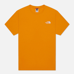 Мужская футболка The North Face SS Simple Dome Flame Orange