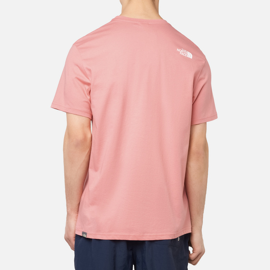 Мужская футболка The North Face SS Simple Dome Mauveglow