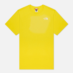 Мужская футболка The North Face SS Simple Dome TNF Lemon