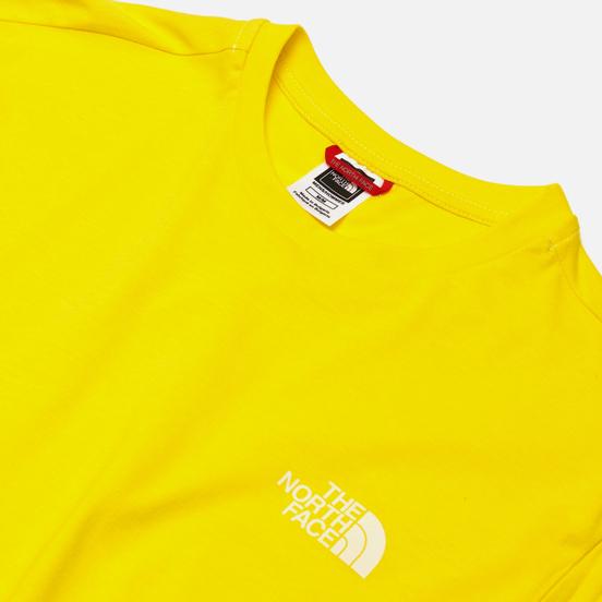 Мужская футболка The North Face SS Simple Dome TNF Lemon