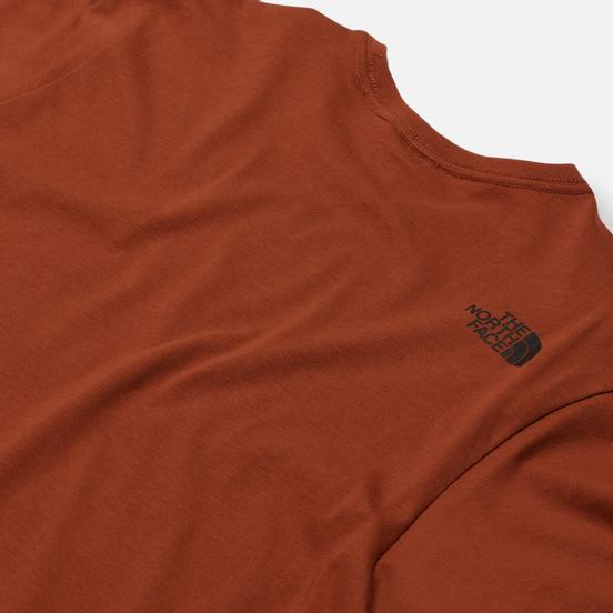 Мужская футболка The North Face Woodcut Dome Caramel Cafe