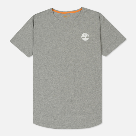 Мужская футболка Timberland Back Logo Medium Grey Heather