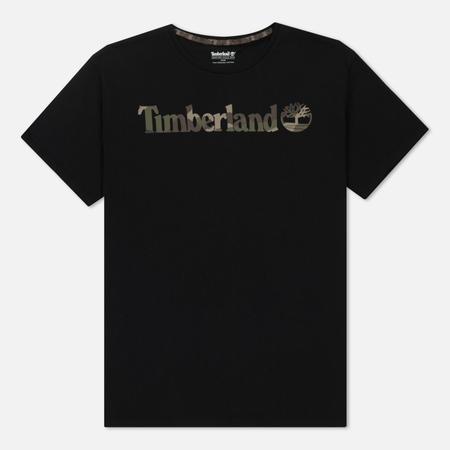 Мужская футболка Timberland Dunstan River Camo Logo Black