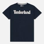 Мужская футболка Timberland Kennebec River Branded Logo Dark Sapphire фото- 0
