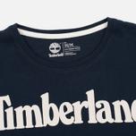 Мужская футболка Timberland Kennebec River Branded Logo Dark Sapphire фото- 1