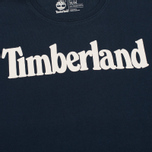 Мужская футболка Timberland Kennebec River Branded Logo Dark Sapphire фото- 2