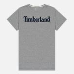 Мужская футболка Timberland Kennebec River Branded Logo Medium Grey Heather фото- 0