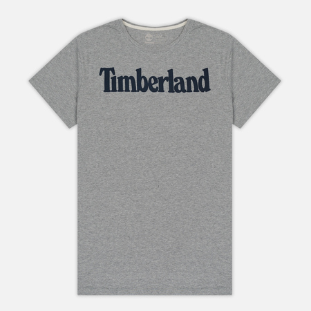 Мужская футболка Timberland Kennebec River Branded Logo Medium Grey Heather