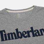 Мужская футболка Timberland Kennebec River Branded Logo Medium Grey Heather фото- 1