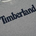 Мужская футболка Timberland Kennebec River Branded Logo Medium Grey Heather фото- 2