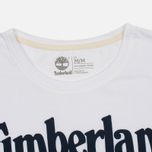 Мужская футболка Timberland Kennebec River Branded Logo White фото- 1