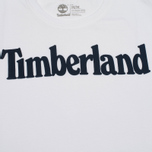 Мужская футболка Timberland Kennebec River Branded Logo White фото- 2