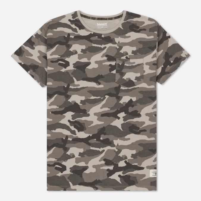 Мужская футболка Timberland Kennebec River Camo Gargoyle Print
