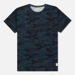 Мужская футболка Timberland Kennebec River Camo Orion Blue Print фото- 0