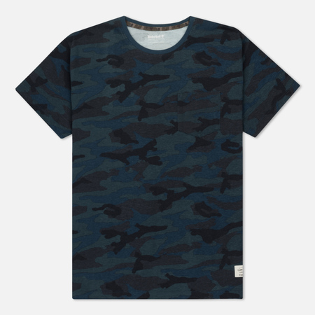 Мужская футболка Timberland Kennebec River Camo Orion Blue Print