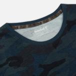 Мужская футболка Timberland Kennebec River Camo Orion Blue Print фото- 1