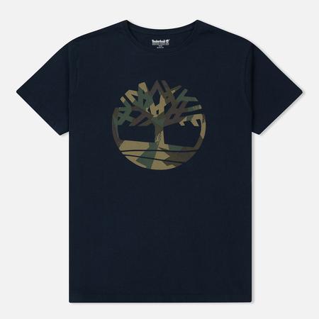 Мужская футболка Timberland Kennebec River Slim Fit Dark Sapphire Tree