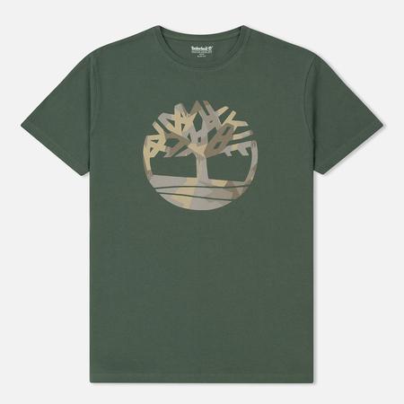Мужская футболка Timberland Kennebec River Slim Fit Duck Green Tree