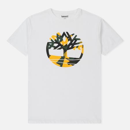 Мужская футболка Timberland Kennebec River Slim Fit White Tree