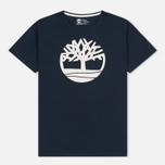 Мужская футболка Timberland Kennebec River Tree Logo Dark Sapphire фото- 0