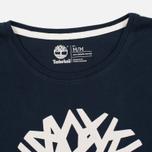 Мужская футболка Timberland Kennebec River Tree Logo Dark Sapphire фото- 1