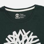 Мужская футболка Timberland Kennebec River Tree Logo Darkest Spruce фото- 1