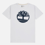Мужская футболка Timberland Kennebec River Tree Logo White фото- 0
