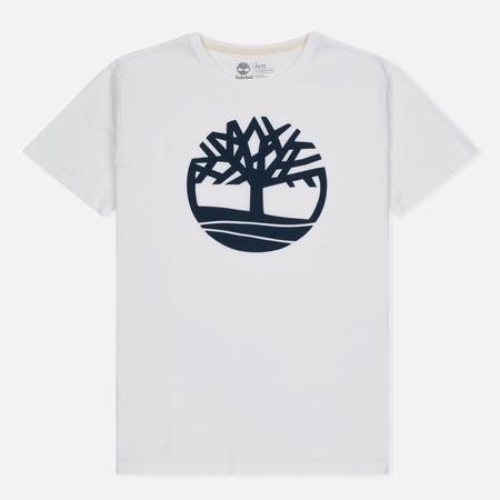Мужская футболка Timberland Kennebec River Tree Logo White