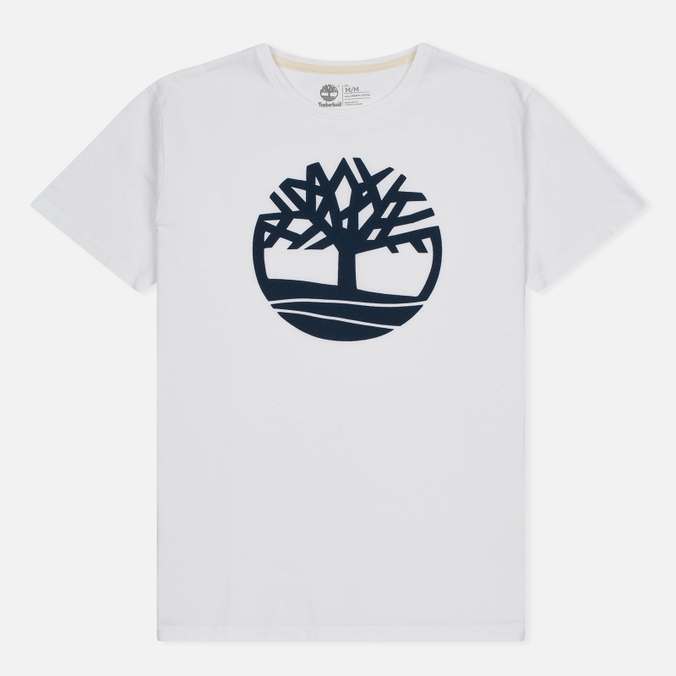 Мужская футболка Timberland Kennebec River Tree Logo White