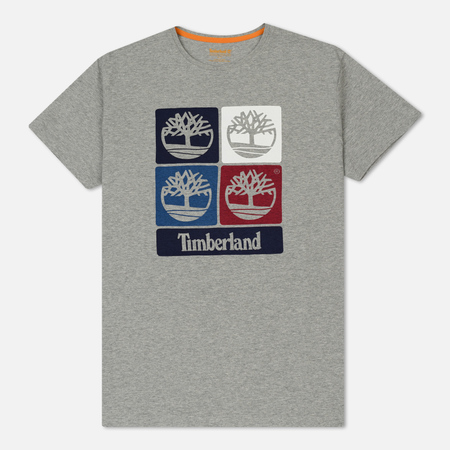 Мужская футболка Timberland Vintage Inspired Print Medium Grey Heather