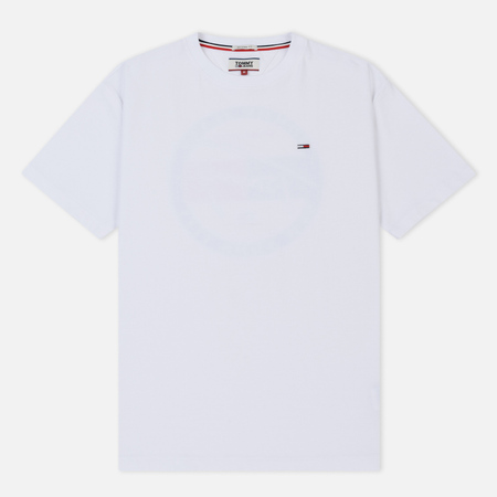 Мужская футболка Tommy Jeans Back Graphic Classic White