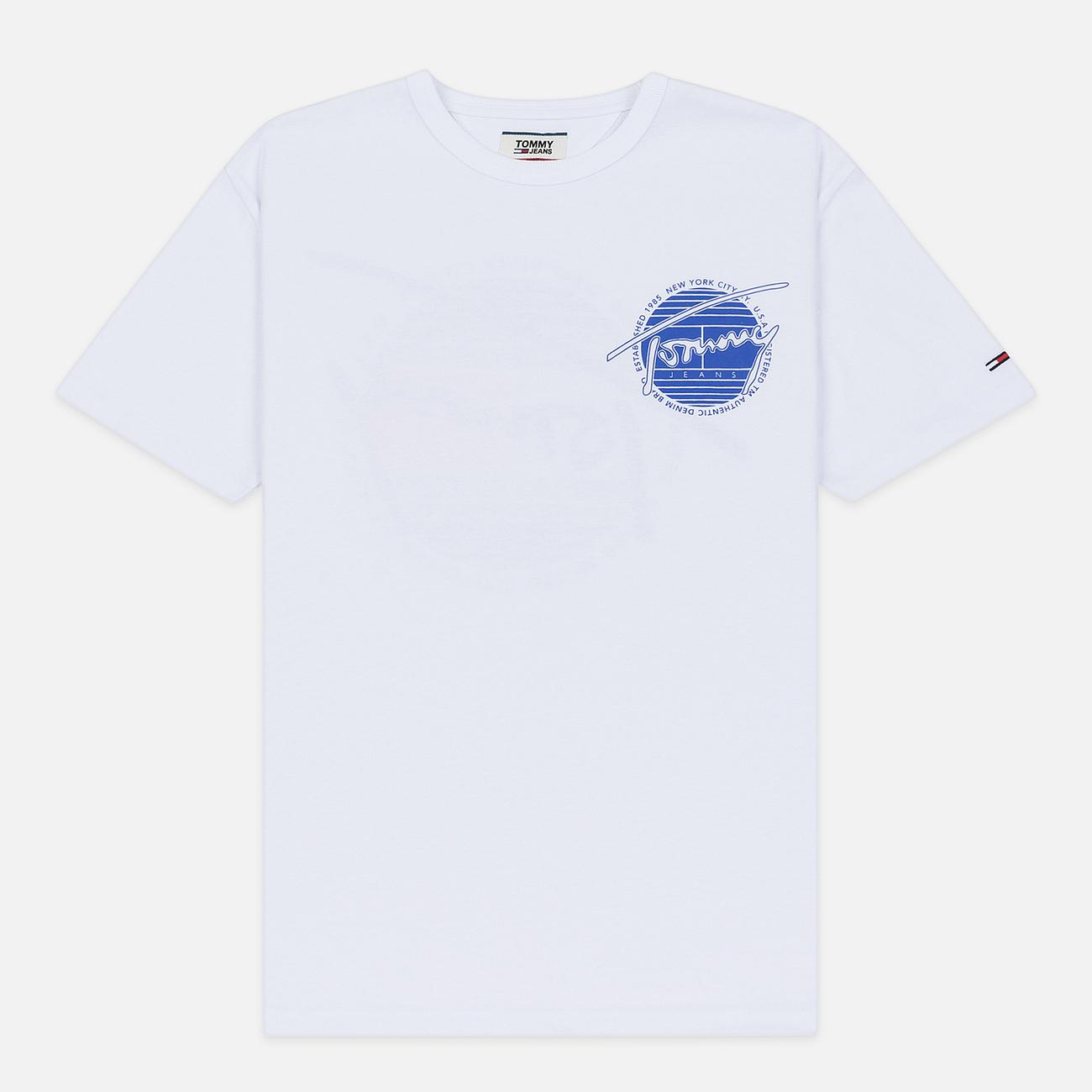 Мужская футболка Tommy Jeans Back Screenprinted Graphic Classic White
