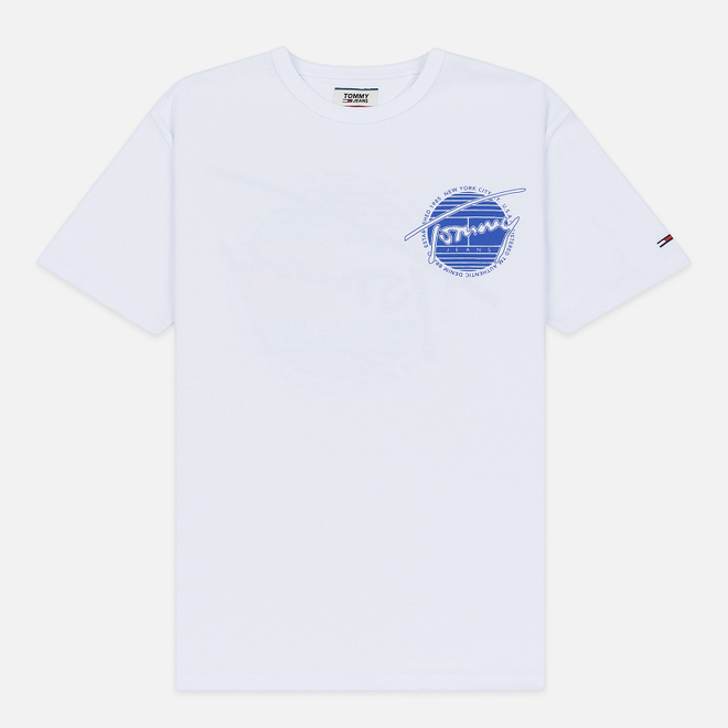 Мужская футболка Tommy Jeans Back Screenprinted Graphic Classic White
