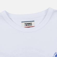 Мужская футболка Tommy Jeans Back Screenprinted Graphic Classic White фото- 1