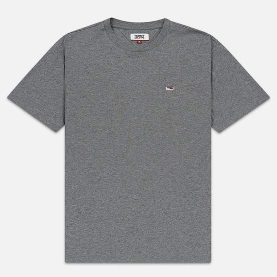 Мужская футболка Tommy Jeans Classic Fit Tommy Classics Dark Grey Heather