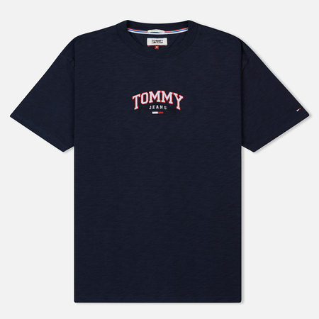 Мужская футболка Tommy Jeans College Embroidery Black Iris