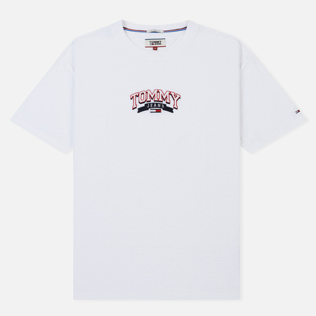 Мужская футболка Tommy Jeans College Embroidery Classic White