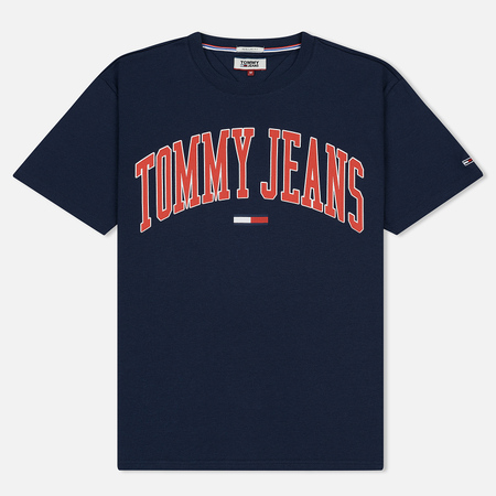 Мужская футболка Tommy Jeans Collegiate Black Iris