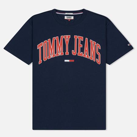 Мужская футболка Tommy Jeans Collegiate Black Iris